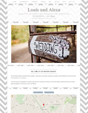 Wedding Website Theme 3