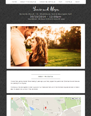 Wedding Website Theme 7