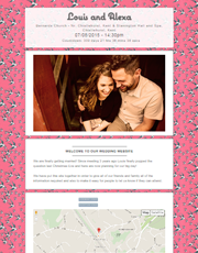 Wedding Website Theme 8