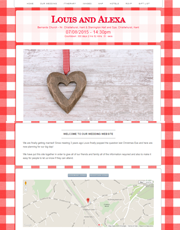 Wedding Website Theme 1