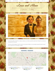 Wedding Website Theme 4